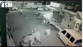 El video fue difundido por Noticias SIN.