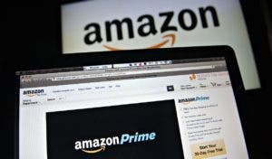 The Amazon.com Inc. Prime logo is displayed on computer screens for a photograph in Tiskilwa, Illinois, U.S., on Wednesday, April 23, 2014. Amazon.com Inc. is scheduled to release earnings figures on April 24. Photographer: Daniel Acker/Bloomberg via Getty Images