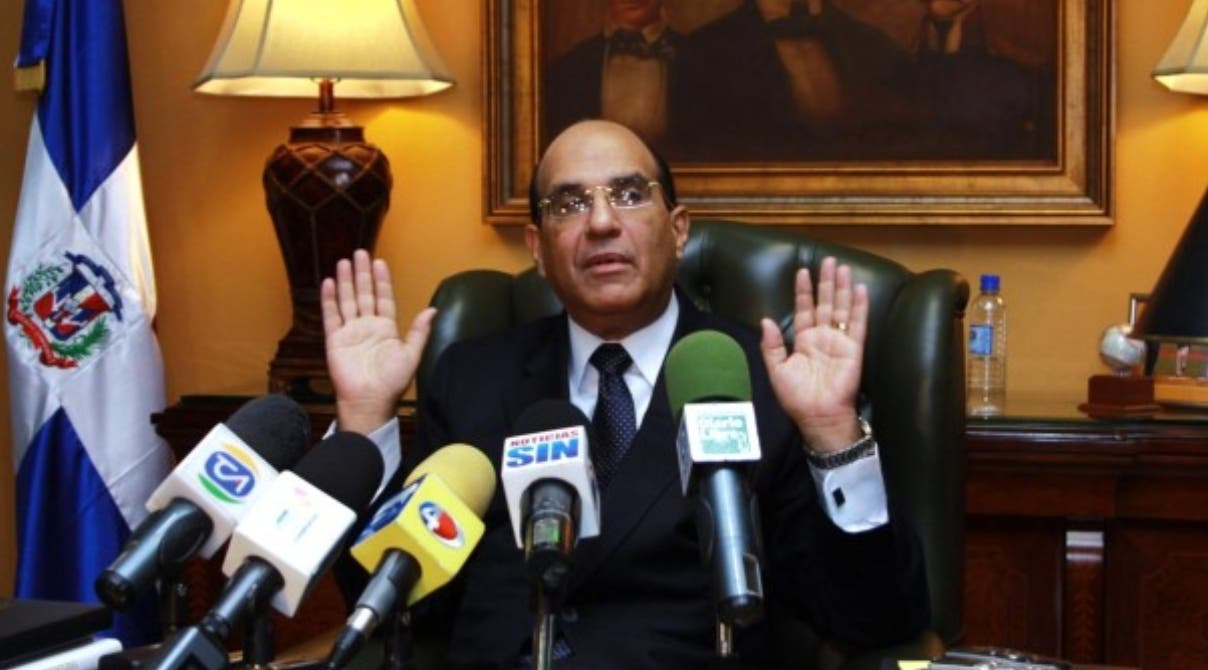 Julio César Castaños Guzmán, presidente de la JCE,