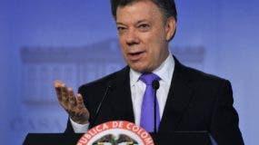 El presidente colombiano, Juan Manuel Santos. AFP