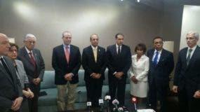 Presidente de Finjus en visita a la JCE. Foto: Degnis De León.