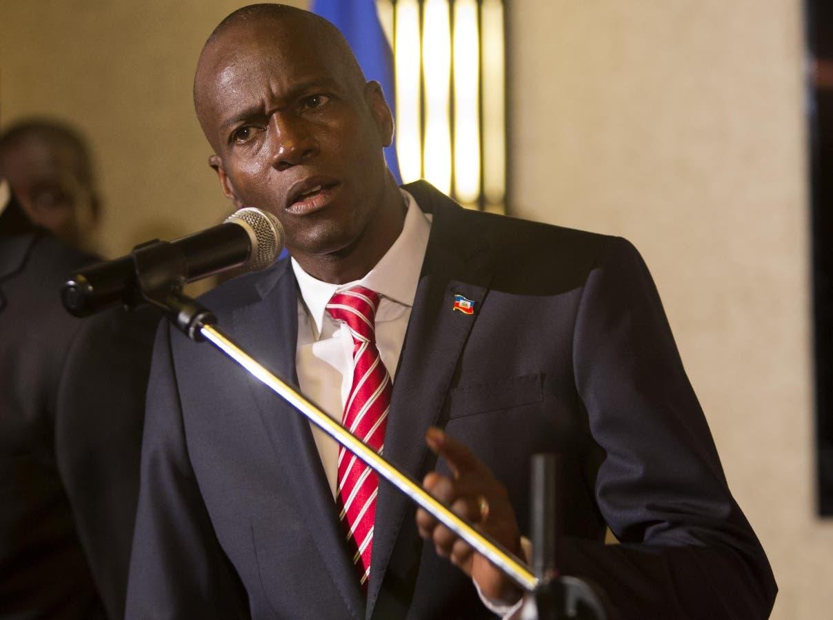 Jovenel Moise es el responsable de turno del Caricom.  AP