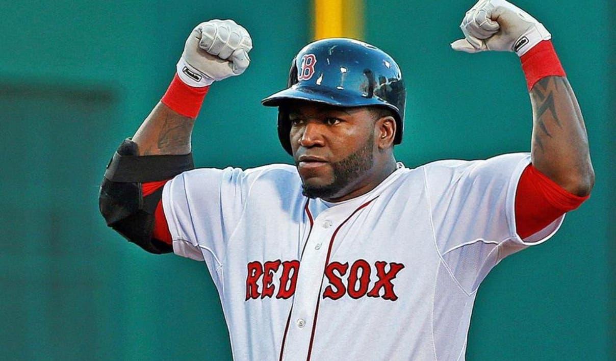 El dominicano David Ortiz es muy popular en la ciudad de Boston.