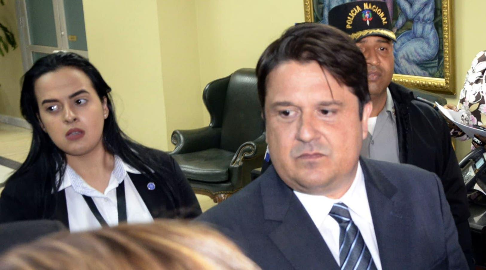 El gerente general de la empresa brasileña  Odebrecht en el país, Marcelo Hofke. foto José de León/Archivo
