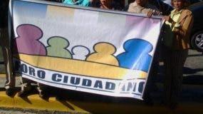 Foro ciudadano protesta en Procuraduría