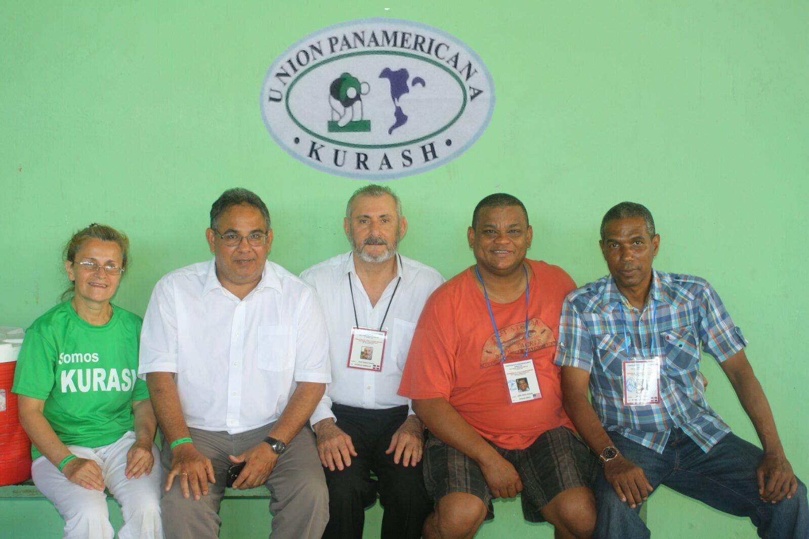 El comité ejecutivo de la Unión Panamericana de Kurash.