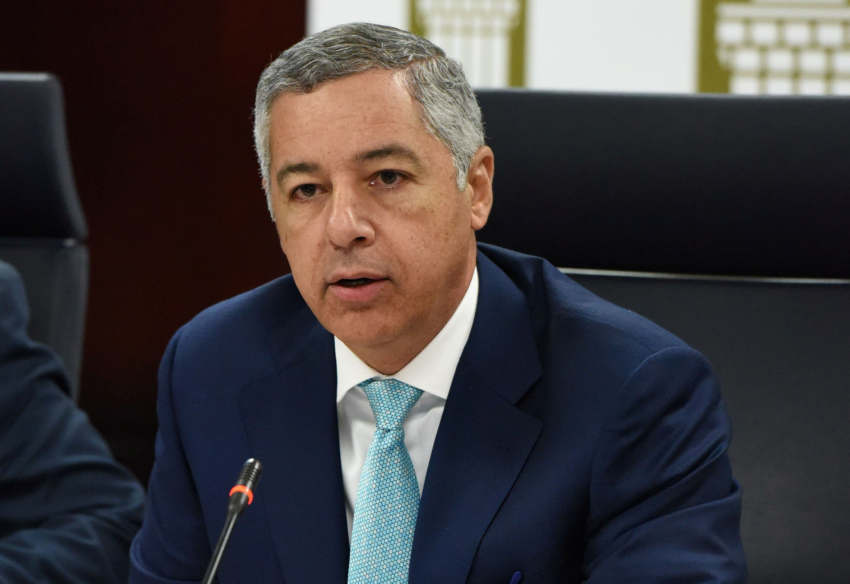 Donald Guerrero, ministro de Hacienda. Foto de archivo.