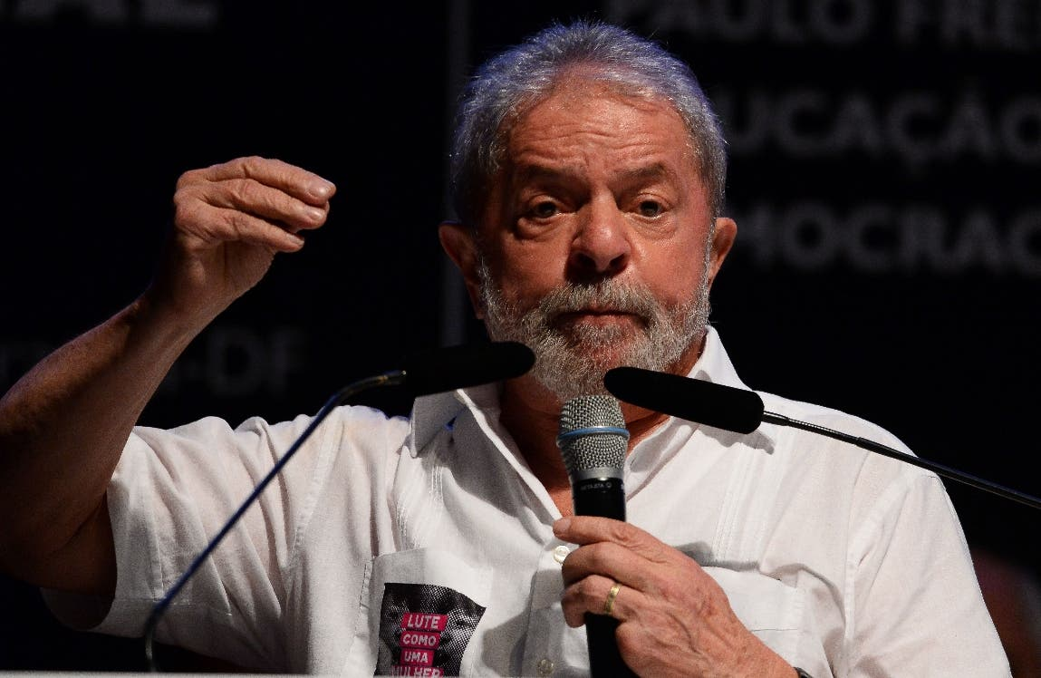 Luiz Inacio Lula da Silva. AFP