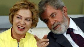 Lula y esposa
