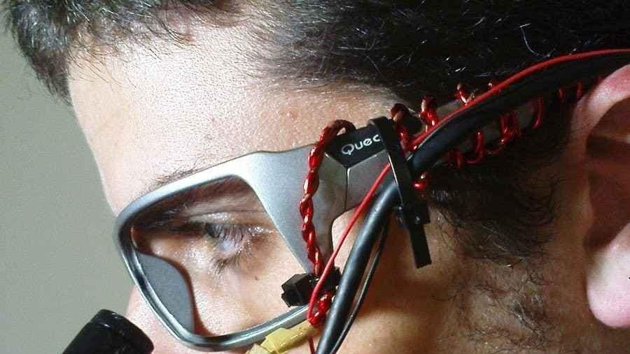 Imagen de Zacharias Vamvakousis, uno de los creadores del proyecto The EyeHarp.