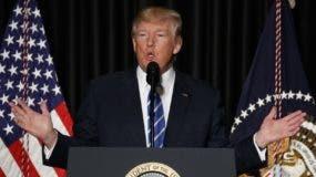 El presidente Donald Trump. AP