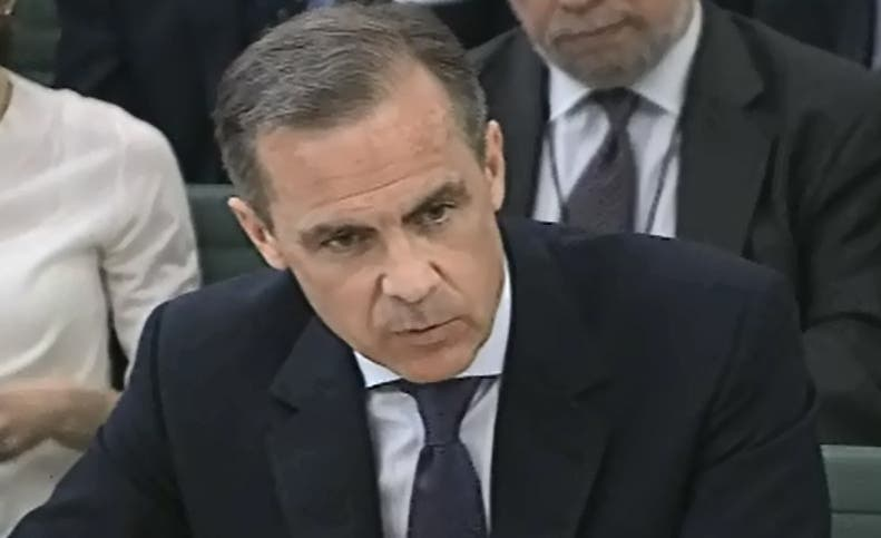 """This TV-Grab image taken from the British Parliament's Parliamentary Recording Unit (PRU) shows Governor of the Bank of England Mark Carney speaking during a Treasury select committee hearing in London on March 11, 2014.  The alleged manipulation of foreign exchange markets is """"as serious as"""" the Libor rate rigging scandal that rocked the financial sector, Bank of England governor Mark Carney said ON mARCH 11, 2014. """"This is extremely serious... this is as serious as Libor, if not more so,"""" Carney told a panel of British lawmakers amid the forex investigation.  RESTRICTED TO EDITORIAL USE - MANDATORY CREDIT """" AFP PHOTO / PRU """" - NO MARKETING NO ADVERTISING CAMPAIGNS - NO RESALE - NO DISTRIBUTION TO THIRD PARTIES - 24 HOURS USE - NO ARCHIVES"""
