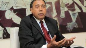 El presidente de  la Copardom, Fermín Acosta