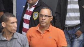 Elvin Roberto Rodgers Rodríguez cuando fue apresado por caso.