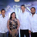 Jesús Moreno, Carolina Pantaleón, Luis Fernando Enciso y Roberto Caraballo.