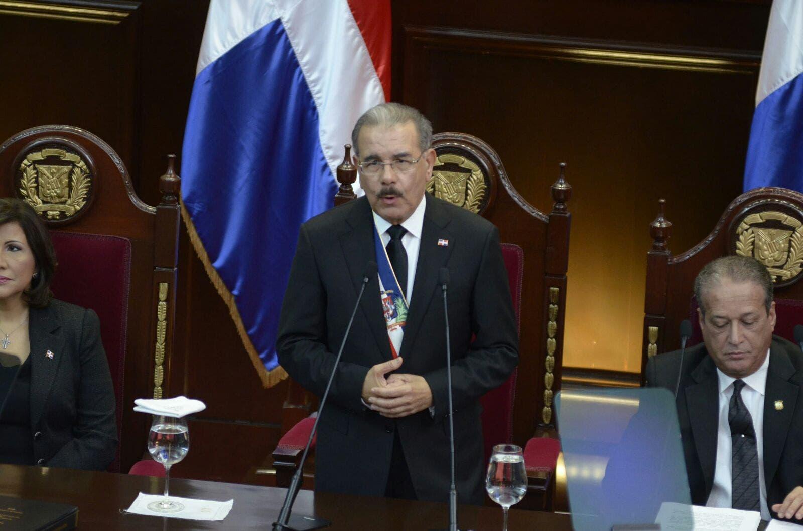 Discurso íntegro del presidente Danilo Medina
