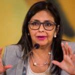 Delcy Rodríguez, vicepresidenta de Venezuela. Foto de archivo/EFE