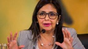 Delcy Rodríguez, presidenta de la Asamblea Nacional Constituyente (ANC) de Venezuela. Foto de archivo/EFE