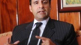 Servio Tulio Castaños hizo el planteamiento a legisladores.