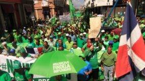 El movimiento Marcha Verde ha concitado el apoyo de los más variados y diversos sectores de la sociedad dominicana que se han identificado con la causa.