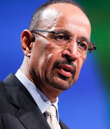 Ministro saudí Khalid Al-Falih.