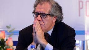 El secretario general de la OEA, Luis Almagro, presentó el plan.