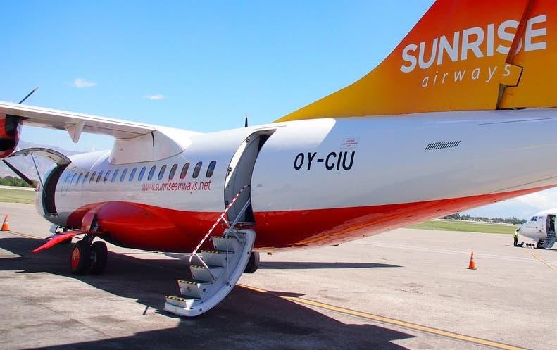 El   avión    Airbus A320 de 180 asientos de la aerolínea.