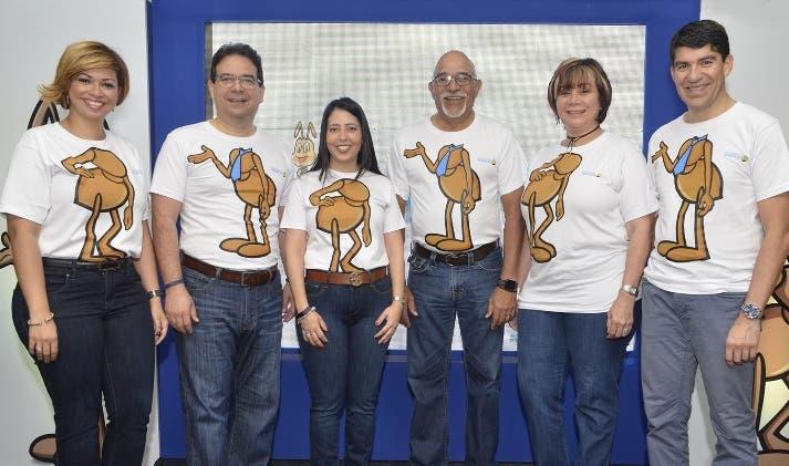 Ejecutivos y empleados  durante la convención.