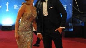 Nuestras celebridades destilan elegancia y glamour sobre la alfombra roja de Premios Soberano 2017 Foto: Nicolás Monegro