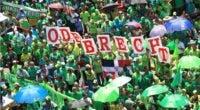 Miles de dominicanos participaron en la Marcha Verde contra la corrupción y la impunidad en el 2017. Foto: Elieser Tapia/El Día.