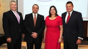 Melvin Cintrón, Luis Ernesto Camilo, Bernarda Franco y Carlos Veras.