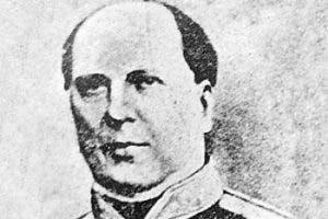 Héroe de la Batalla del 30 de marzo, general José María Imbert.