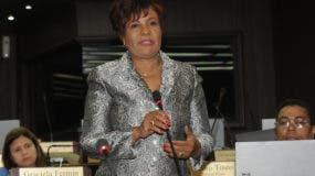 Josefa Castillo denunció  un atentado en su contra.