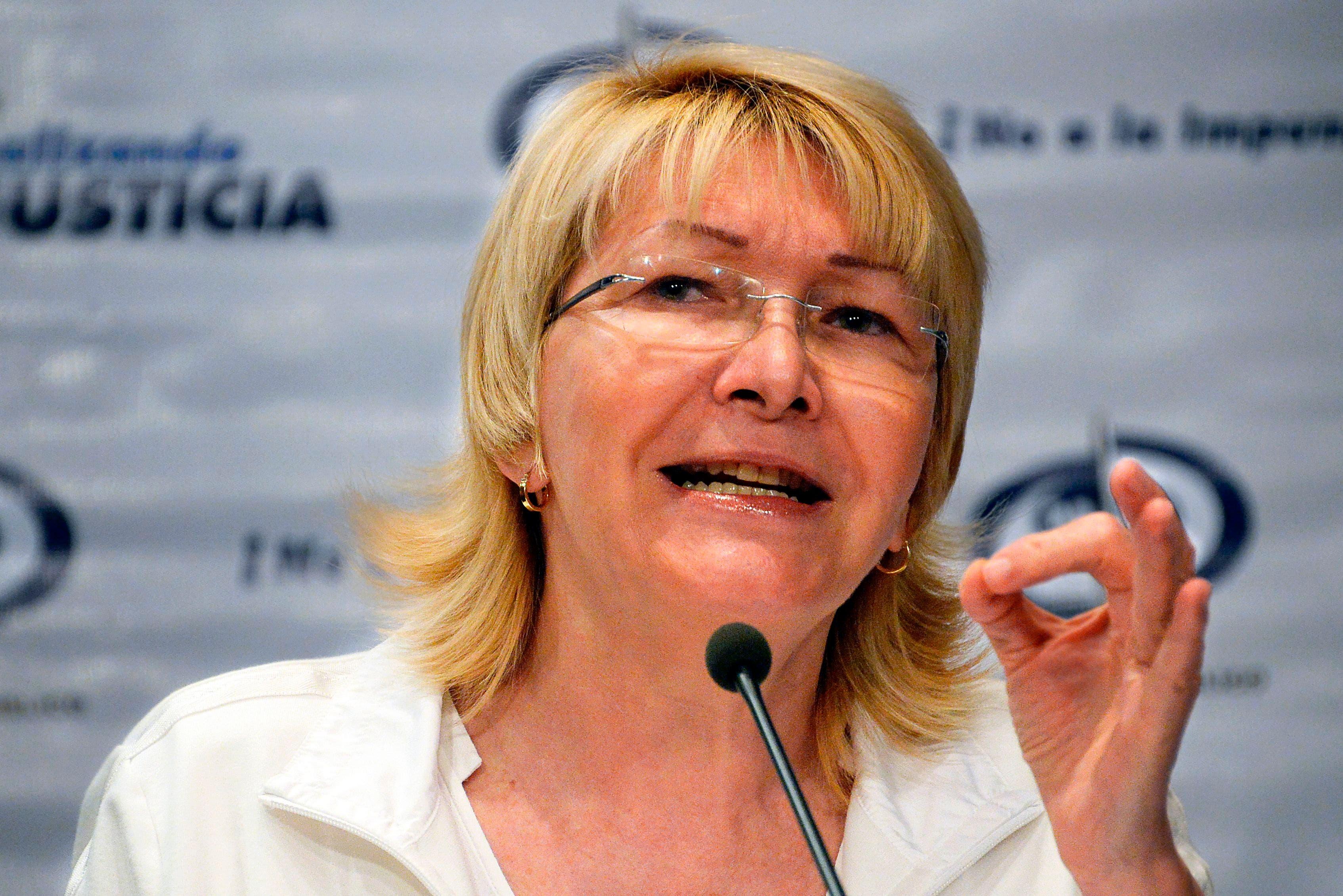 La fiscal Luisa Ortega Díaz. Foto de archivo.