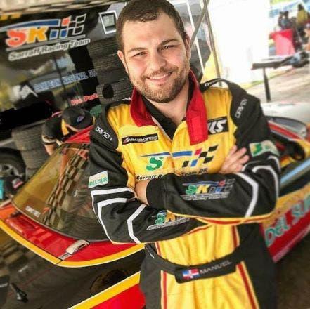 Manuel Sarraff, la nueva apuesta de la escudería Sarraff Racing en el campeonato de autos.