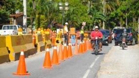 El Consorcio Boulevard Turístico del Atlántico informó que realiza trabajos de construcción en el tramo afectado.