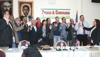 La nueva entidad, integrada por periodistas, líderes y activistas comunitarios, tiene como propósito fundamental empoderarse de los problemas que afectan la comunidad dominicana establecida en Estados Unidos