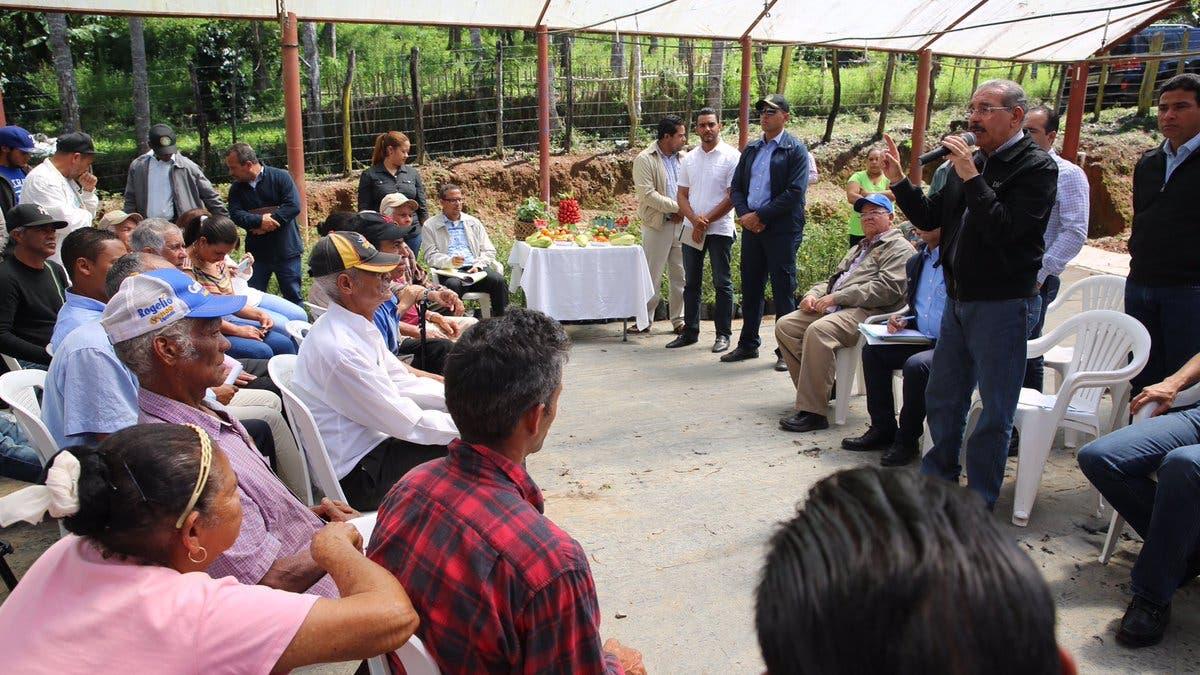 Gobierno dará asistencia y financiamiento a productores de fresas de Los Dajaos