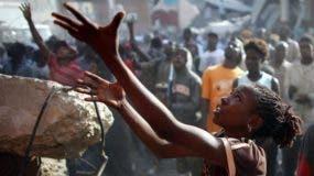 """A la hora de hacer la proposición, el Ejecutivo de Mauricio Macri tuvo en cuenta que Haití sufrió """"en los últimos años el impacto directo y las consecuencias de repetidos desastres naturales"""". Foto:  La Nación."""