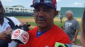 Tony Peña, mánager del equipo dominicano.