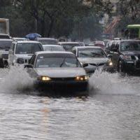 Las lluvias han provocado inundaciones en diferentes lugares del país.