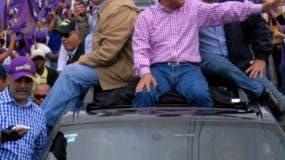 Medina reconoció que Santana lo  asesoró en la campaña.