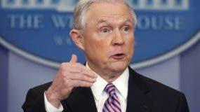 Jeff Sessions, secretario de Justicia de  Estados Unidos.