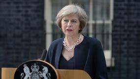 Theresa May, primera ministra del Reino Unido.