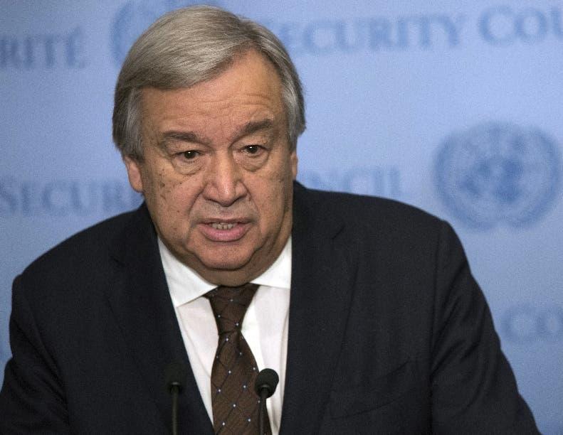 Antonio Guterres  propone frenar planes de  Corea del Norte.