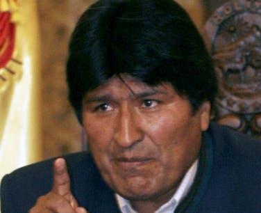 Evo Morales, presidente de Bolivia. AFP