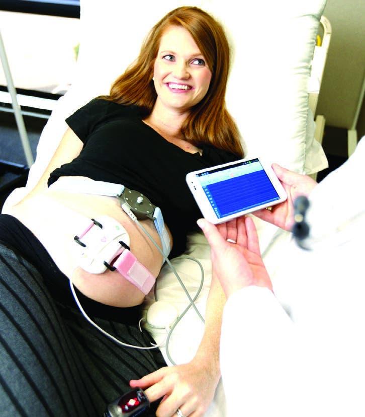 Se utiliza conjuntamente con  exámenes de sangre materna  para detectar anomalías fetales.