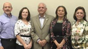 Víctor Pou, Marina Pimentel de Isa, Donato Peña Mirabal, Luisa González  y  Emma Guzmán de Cruz.