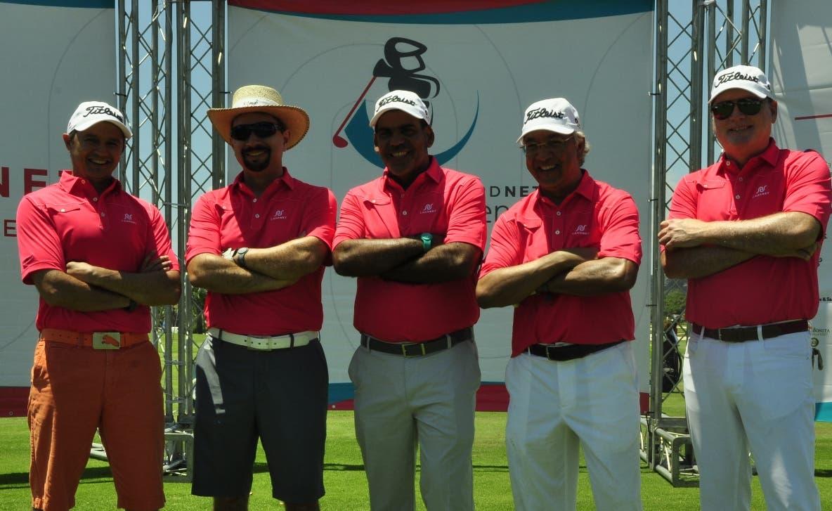 Guillermo Rospigliosi, Oscar Peña, Luis Bencosme, Eddy Martínez y  Alejandro Peña.