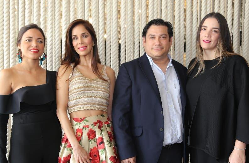 Michelle Menéndez, Letty Rivera, Teiglis Torres y Patricia Romer.